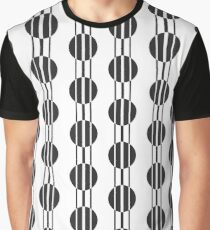 Retro circles pattern Graphic T-Shirt