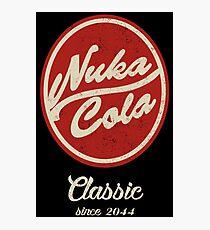 Nuka Cola Logo Parody Photographic Print
