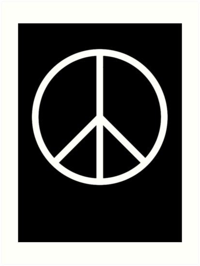 Ban The Bomb Peace Symbol Old School Original Cnd Trident