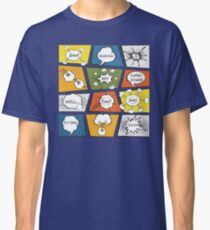 Reading Is My Super Power Well That And Flying for Comic Book & Graphic Novel Fans Classic T-Shirt