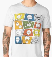 Reading Is My Super Power Well That And Flying for Comic Book & Graphic Novel Fans Men's Premium T-Shirt