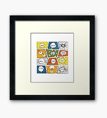 Reading Is My Super Power Well That And Flying for Comic Book & Graphic Novel Fans Framed Print