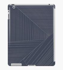 Zig Zag Line Print by Two Chikkis iPad Case/Skin