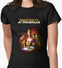 Spaceballs - Reworked Poster Women's Fitted T-Shirt