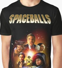 Spaceballs - Reworked Poster Graphic T-Shirt