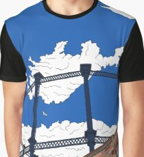 London Regent's Canal Gas Tower Graphic T-Shirt