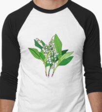 Lilly of the Valley Men's Baseball ¾ T-Shirt