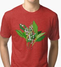 Lilly of the Valley Tri-blend T-Shirt