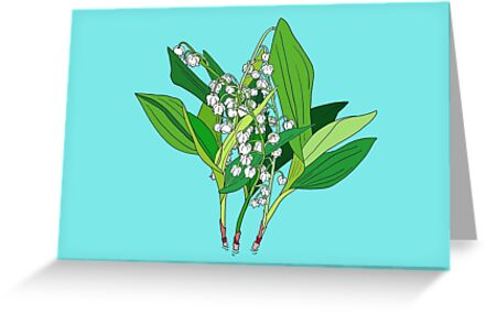 Lilly of the Valley by m-lapino