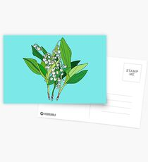 Lilly of the Valley Postcards