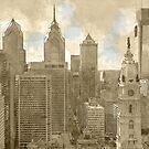Philadelphia Skyline by mrthink