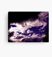 bored Canvas Print