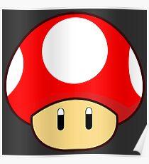 Super Mushroom Poster