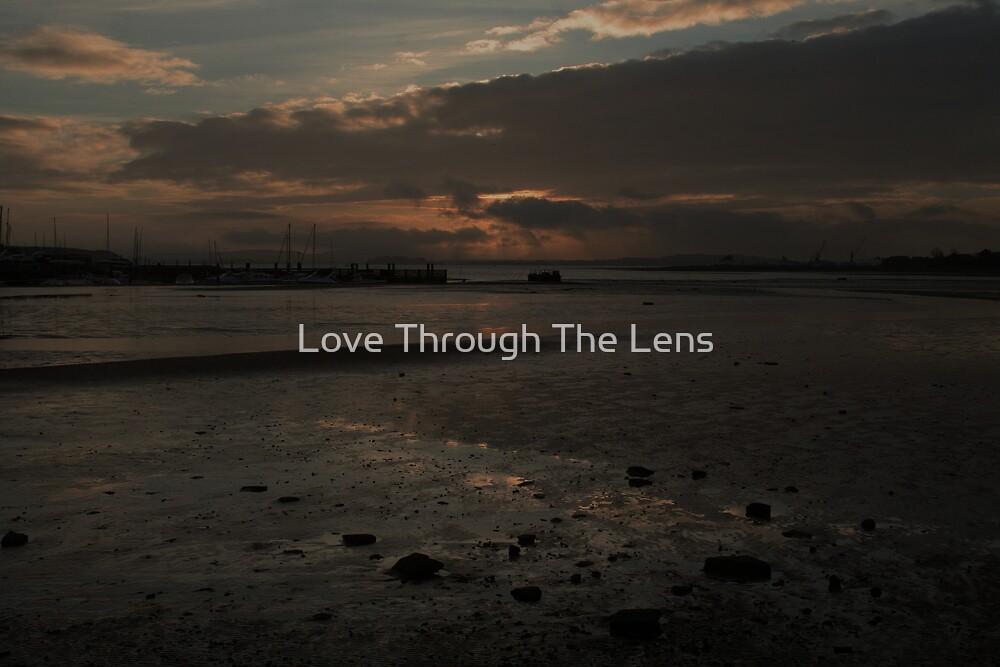 Moody Skies in sandbanks by Love Through The Lens