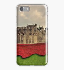 Tower Poppies  iPhone Case/Skin