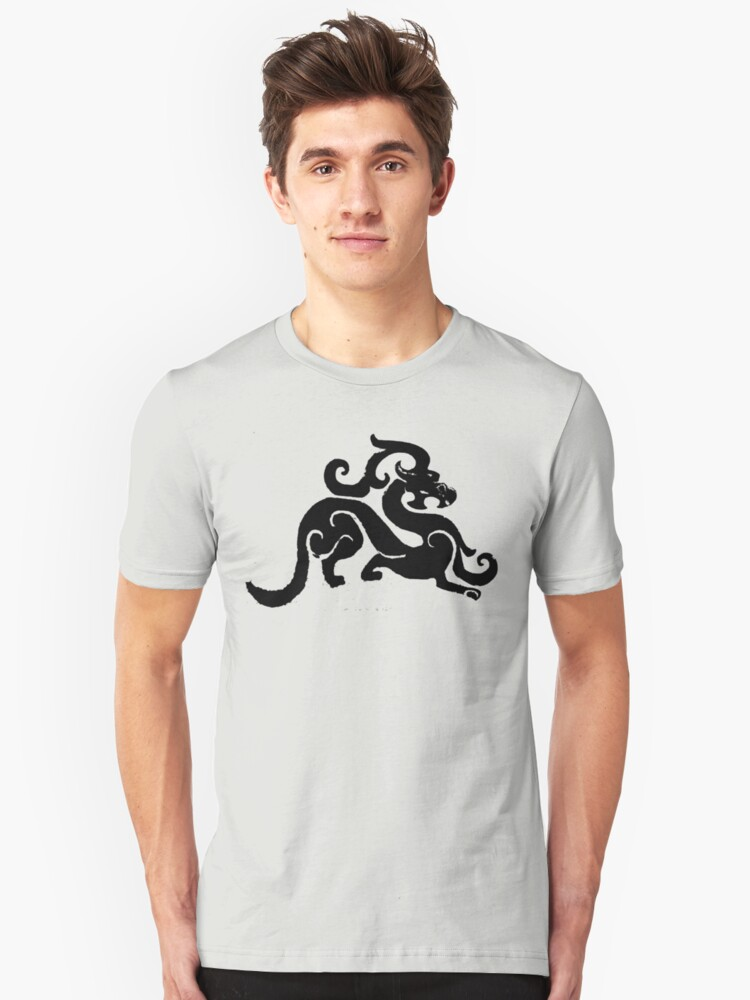 Chinese Dragon Unisex T-Shirt Front