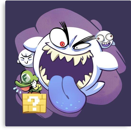 Mario Ghost by gameboylands