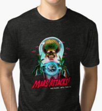 Mars Atacks Poster Tri-blend T-Shirt