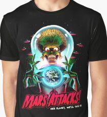 Mars Atacks Poster Graphic T-Shirt