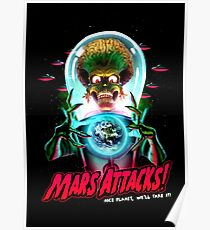 Mars Atacks Poster Poster