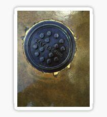 Manhole cover-self locking  Sticker