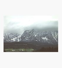 Polaroid Alps Photographic Print