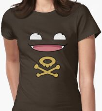 Koffing Love  Womens Fitted T-Shirt