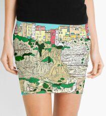 Bonifacio in Corsica Mini Skirt