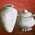 Clay Pots by Janette  Dengo