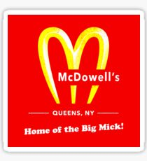 Coming To America - McDowells Resturant Sticker