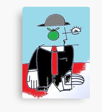 After Picasso -  C1 Magritte appreciation Canvas Print