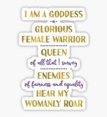 Pawnee Goddess Oath Sticker