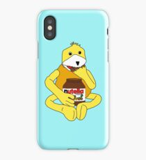 Flat E Nutella Therapy iPhone Case/Skin