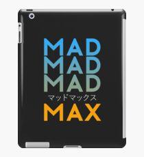 MAD MAD MAD iPad Case/Skin
