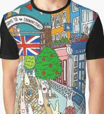 Bunnies in London Carnaby Street Graphic T-Shirt