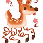Squiggle Fawn by Paigekotalik