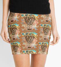 STEAMPUNK AIRSHIP BALLOON Mini Skirt