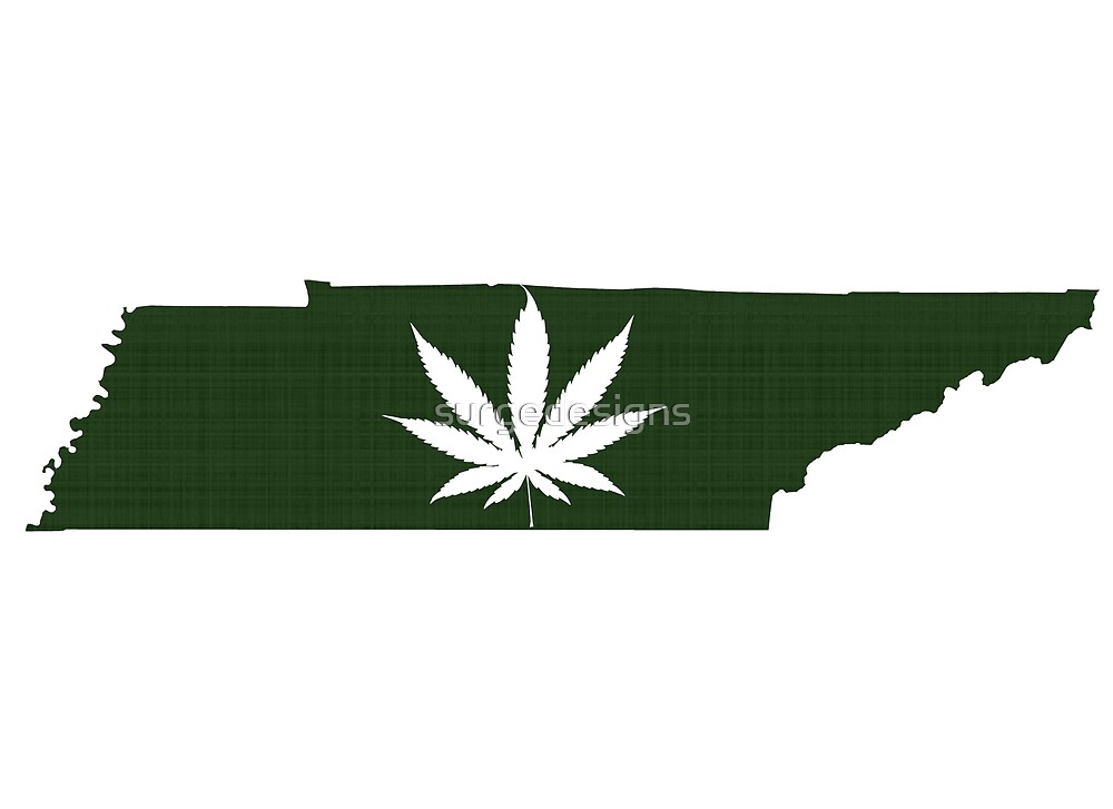 Marijuana Leaf Tennessee by surgedesigns
