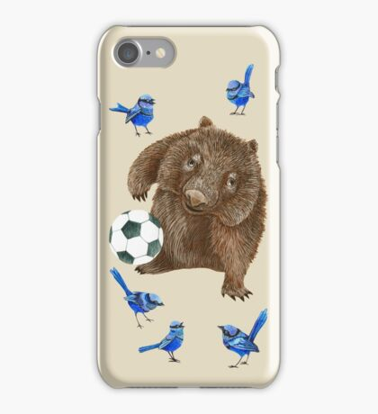 Wrens football Wombat iPhone Case/Skin