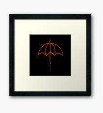 I'M MARY POPPINS Y'ALL! (Red Umbrella) Framed Print