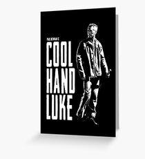 Paul Newman - Cool Hand Luke Greeting Card