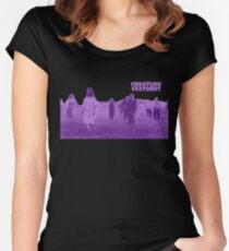 Night of the Living Dead Zombies Women's Fitted Scoop T-Shirt