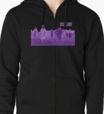 Night of the Living Dead Zombies Zipped Hoodie