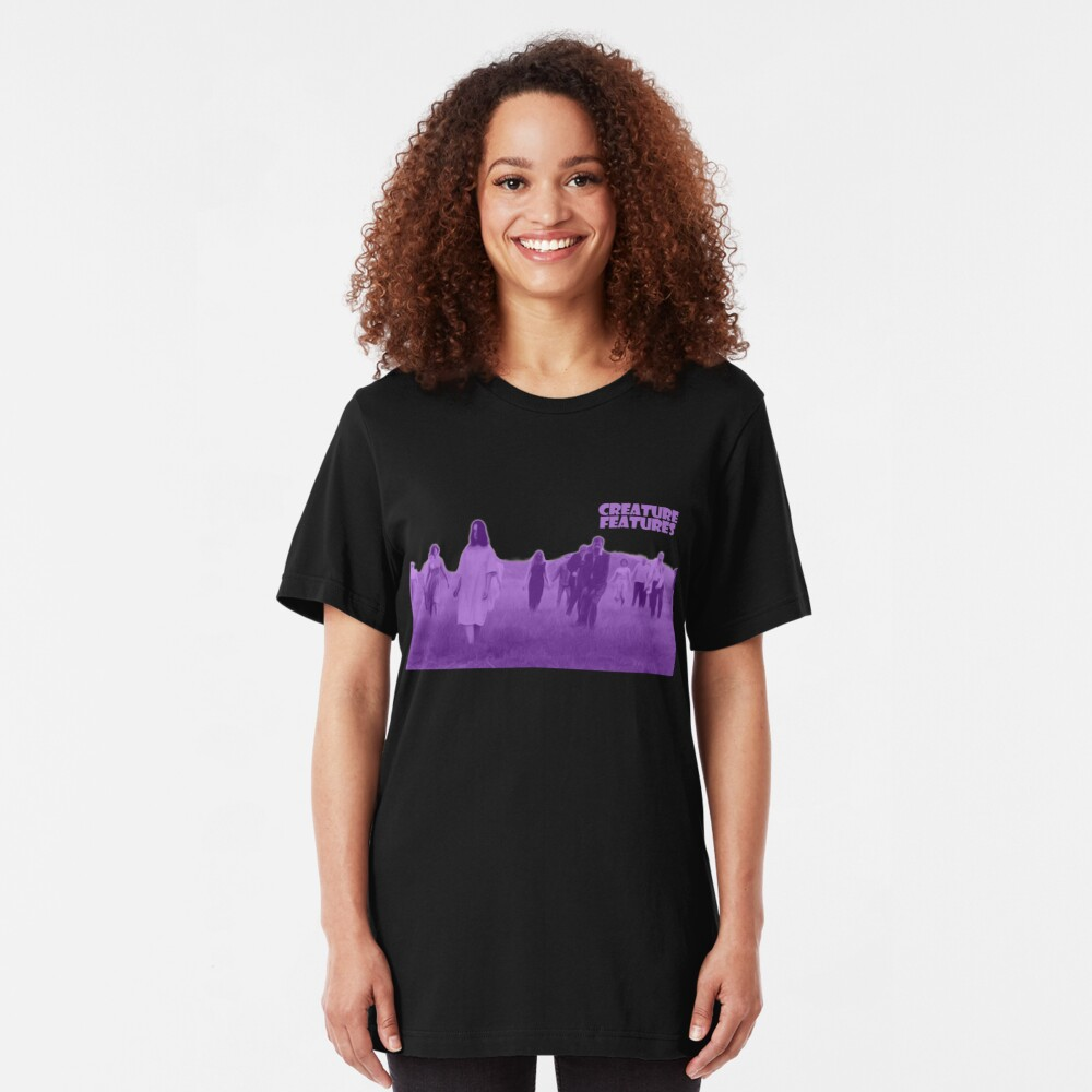 Night of the Living Dead Zombies Slim Fit T-Shirt