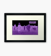 Night of the Living Dead Zombies Framed Print