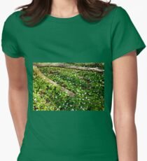 Trillium Patch Womens Fitted T-Shirt