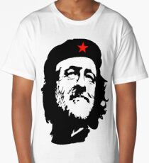 Election, CORBYN, Comrade Corbyn, Leader, Politics, Labour Party, Black on White Long T-Shirt