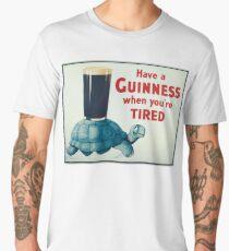 vintage Guinness beer ad Men's Premium T-Shirt