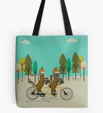 foxy days Tote Bag