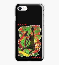 SLAM DUNK BASKETBALL PLAYER iPhone Case/Skin